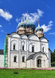 Orthodox cathedral. Cathedral of the Nativity of the Theotokos in Suzdal Kremlin, Suzdal, Russia Stock Image