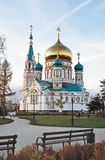 The orthodox cathedral stock photo