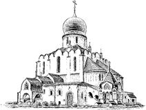 Free Orthodox Cathedral Stock Image - 61240391