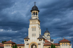 Orthodox Cathedral in Alba Iulia Royalty Free Stock Image