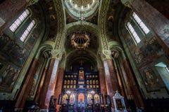 Orthodox Cathedral in Alba Iulia Stock Image