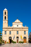 Orthodox Cathedral in Chania. Crete, Greece Stock Images