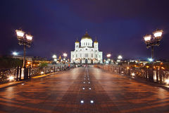 Orthodox Cathedral of Christ Savior Stock Images