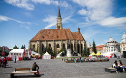 Orthodox cathedral in Cluj. Royalty Free Stock Photos