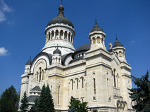 The Orthodox Cathedral of Cluj-Napoca, Romania royalty free stock photo