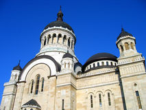 Orthodox Cathedral in Cluj-Napoca, Romania. Impressive Orthodox Cathedral in Cluj-Napoca city (nord-west part of Romania) builded recently, around 1937 (between Royalty Free Stock Photos