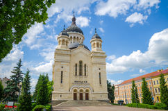 Orthodox Cathedral in Cluj Napoca, Romania Stock Photo