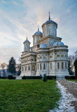 Orthodox Cathedral - Curtea de Arges Stock Photography