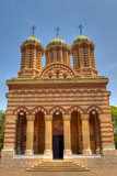Orthodox cathedral detail. Exterior details of Craiova city orthodox cathedral, Romania Royalty Free Stock Images
