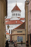 Orthodox Cathedral of the Dormition of the Theotokos, Vilnius, L Stock Photography