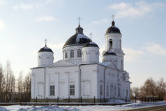 Orthodox Cathedral of Elijah the Prophet,  Soltsy Stock Image