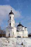 Orthodox Cathedral of Elijah the Prophet,  Soltsy Stock Photo