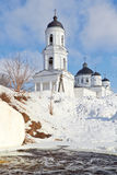 Orthodox Cathedral of Elijah the Prophet,  Soltsy Royalty Free Stock Images