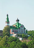 Orthodox cathedral in Feofaniya Stock Photos