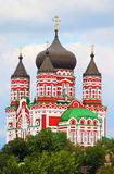 Orthodox cathedral in Feofaniya Stock Images