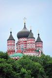 Orthodox cathedral in Feofaniya Stock Photo