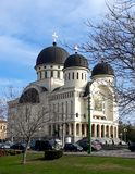 Orthodox cathedral of Holy Trinity. Arad - Romania. Arad, Romania. Orthodox cathedral of Holy Trinity in a clear day of spring stock photos
