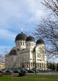 Orthodox cathedral of Holy Trinity. Arad - Romania. Arad, Romania. Orthodox cathedral of Holy Trinity in a clear day of spring royalty free stock photo