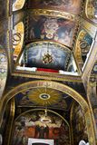 Orthodox Cathedral Interior. Inside view of Vladimir's Cathedral in Kiev, Ukraine Stock Photography