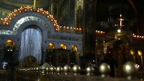 Orthodox Cathedral stock video