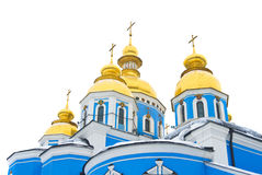 Orthodox cathedral in Kyiv, Ukraine Royalty Free Stock Photography