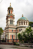 Orthodox Cathedral Lodz Stock Image