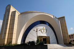 Orthodox Cathedral of the Resurrection of Christ in Tirana Stock Image