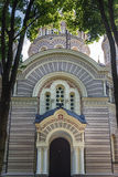 Orthodox Cathedral in Riga Royalty Free Stock Photo