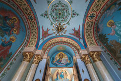 Orthodox Cathedral in Riga Stock Photos
