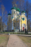 Orthodox cathedral in Russia. Orthodox cathedral in Gatchina, Russia Royalty Free Stock Photo