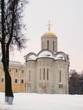 Cathedral of Saint Demetrius in Vladimir, Russia (XII century) Stock Photography