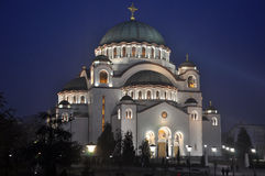 Cathedral of Saint Sava Stock Image