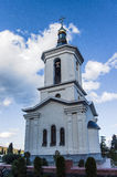 Orthodox cathedral in the seaside city. Of Crimea Royalty Free Stock Photography