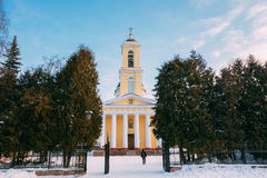 Orthodox Cathedral of St. Peter and Paul in Gomel, Belarus Royalty Free Stock Photography