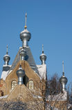 Orthodox cathedral in Tartu, Estonia Royalty Free Stock Photos