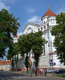 Orthodox Cathedral of the Theotokos in Vilnius Stock Image