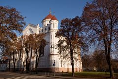 Orthodox Cathedral of the Theotokos Stock Image