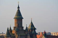 Orthodox cathedral - Timisoara stock image