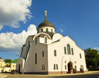 Orthodox cathedral, Tver Royalty Free Stock Photo