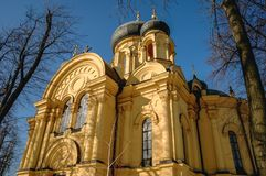 Orthodox cathedral in Warsaw Stock Image