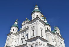 Orthodox Cathedral. Orthodox Cathedral of the XVII century Stock Photography