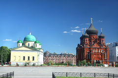 Orthodox cathedrals in Tula Stock Photos