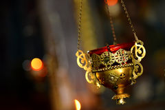 Orthodox censer macro Royalty Free Stock Photography