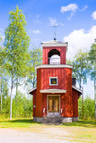 Orthodox chapel Birth of the Mother of God, Virgin Mary in Mutalahti , Ilomantsi, Finland Royalty Free Stock Image