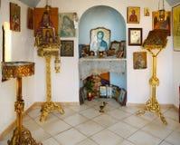 Orthodox chapel Stock Photo