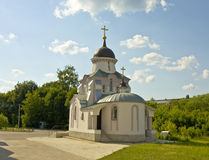 Orthodox chapel, Tver, Russia Stock Photos