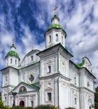 Orthodox Christelijk klooster Stock Afbeelding
