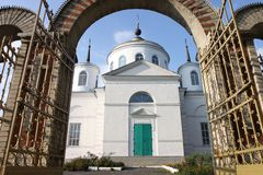 Orthodox christian church Stock Photography