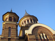 Orthodox Christian church. In Bucharest Royalty Free Stock Photography