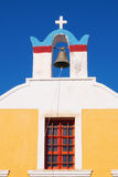 Orthodox christian church in Oia village, Santorini Royalty Free Stock Photo